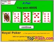 Королевский покер